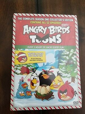 Angry Birds Toons: The Complete Season One (DVD, 2014, 2-Disc Set)