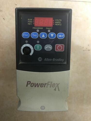 1pc Used Ab Inverter 22a-d4p0n104 1.5kw 380v  #tt2