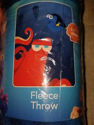 "Disney pixar northwest company finding dory fleece throw blanket 45""x60"""