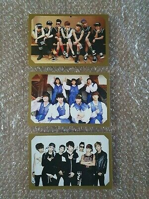 BTS BANGTAN BOYS Official 2014 Diary Fan Meeting Seasons Greeting Photocard