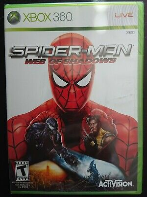 Spider-Man: Web of Shadows Xbox 360 Factory Sealed