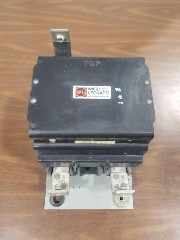 Ward Leonard RDP8-20100 535 Amp Contactor 78469-R 600V DC #3830SR