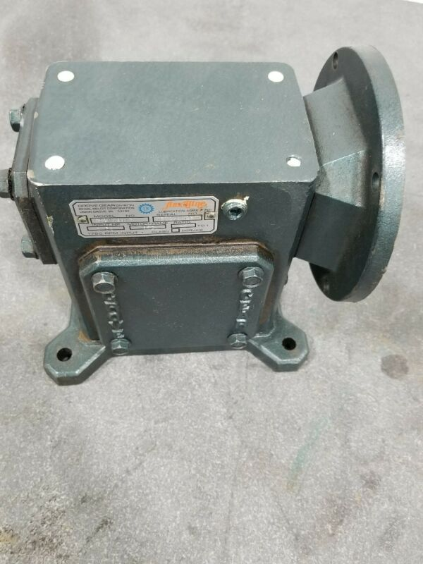 Grove Gear Flexaline TMQ1238-3 40:1 Ratio Speed Reducer #2373SR