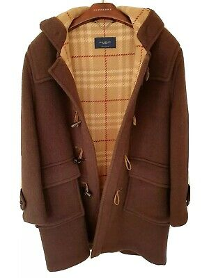 Mens chic LONDON by BURBERRY duffle coat/jacket Size 50R/large.  RRP £995