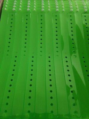 Neon Green Wristbands (100  3/4