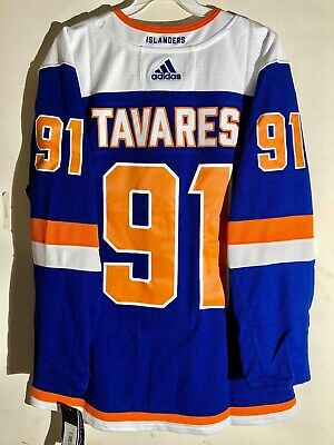 brand new d2118 36c5a Authentic NHL ADIZERO Jersey New York Islanders John Tavares Royal Blue sz  50
