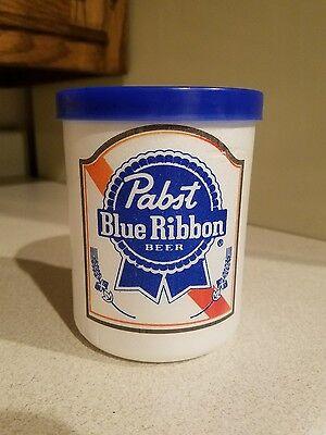 Vintage Pabst Styrofoam Can Cooler