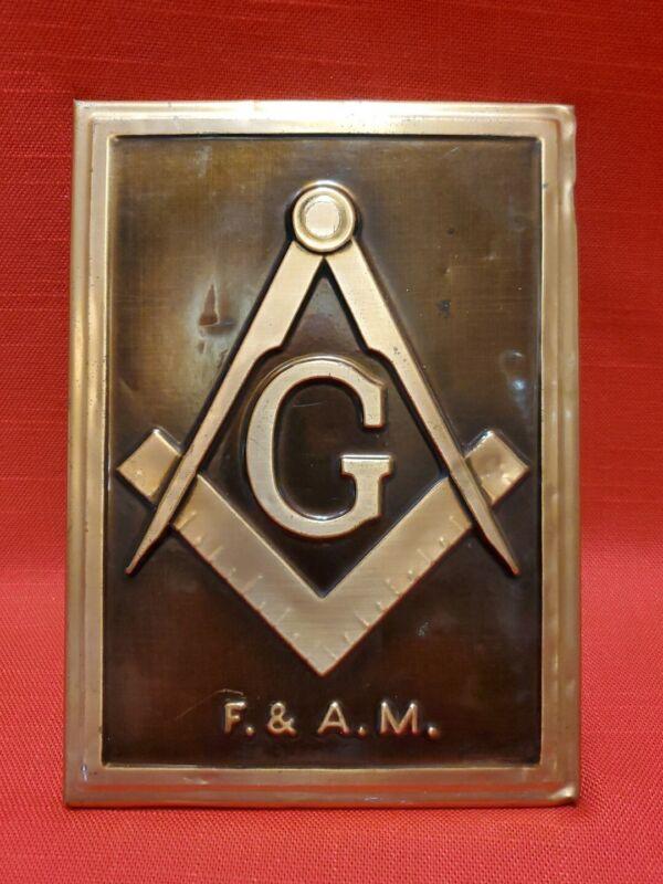 Vintage Masonic Mason