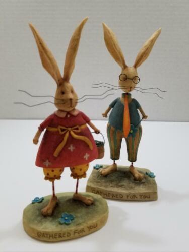August Moon by Dan DiPaolo_Mr. Jack & Mrs. Bunny Hopper Figurines_2005