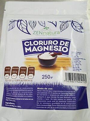 Cloruro de magnesio Magnesium Chlorine 250 g