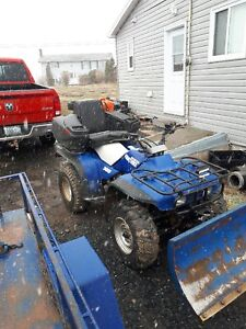 Honda 300 with plow, winch and seat