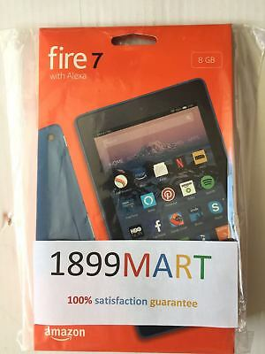 All New Amazon Fire 7 Tablet With Alexa  7  Display  8 Gb  Blue  Special Offers