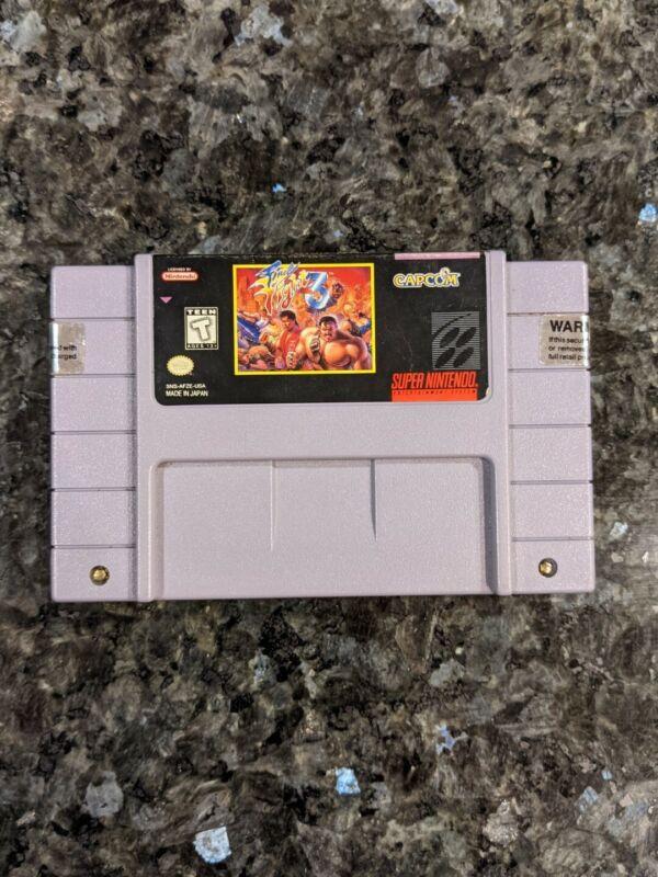 VGC Final Fight III 3 Super Nintendo, SNES Authentic Game Cart Tested Rare&Fun!
