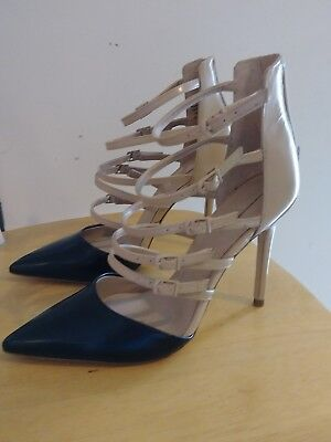 Aldo Women's High Heel Strappy Shoes, Size 6,5 European 37]