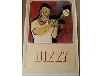 ELLA FITZGERALD /& DIZZY GILLESPIE B//W 18X24  New FREE SHIPPING