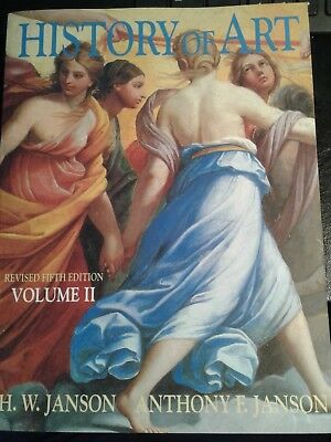 History of Art Vol. 2 by Janson 5th Edition Revised 1997 Paperback (FREE (Jansons History Of Art Volume 2 Revised Edition)