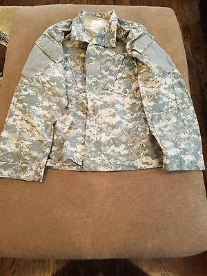New Military Army ACU Camo Jacket size small short