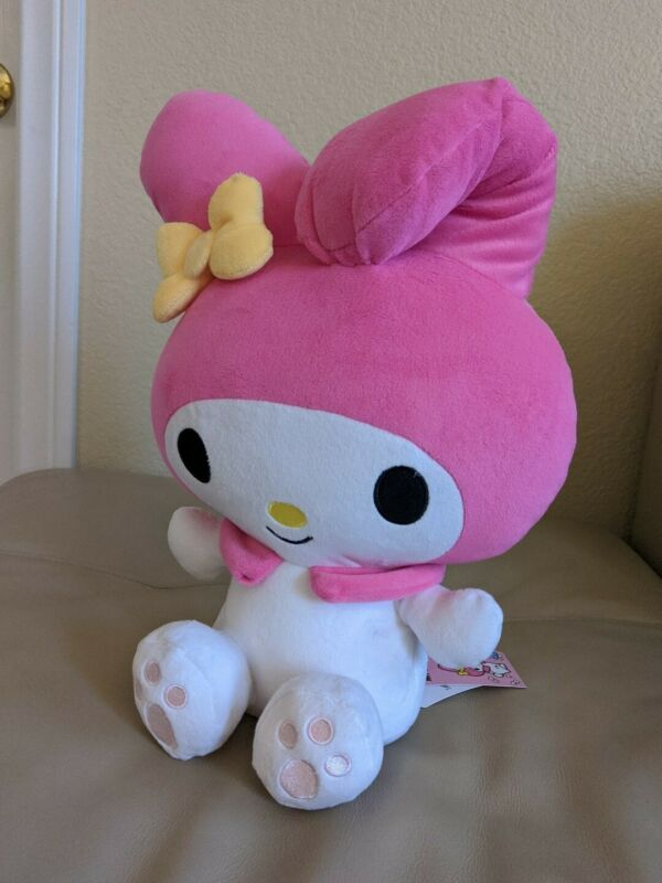 "New with tag - Cute 15"" Sanrio My Melody Pink Plush - Round 1"