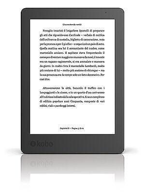Kobo Aura (2° Edizione) Lettore eBook 6 Pollici Wi-Fi 4 GB con Schermo E-Ink HD