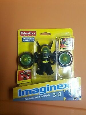 IMAGINEXT_DC Super Friends Collection_BATMAN figure with JET PACK_New & Unopened