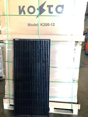200 Watts Solar Panel 12 Volt Battery 200w Mono-crystalline Charger RV (Outdoor Solar Panels)