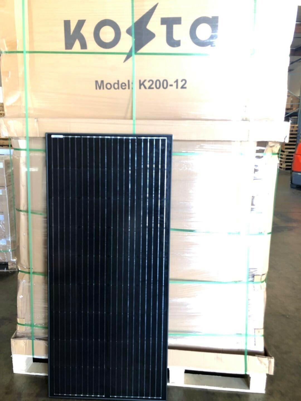 200 Watts Solar Panel 12 Volt Battery 200w Mono-crystalline