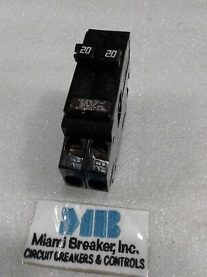 A-2020 Challenger Circuit Breaker 2pole 20amp 120v New