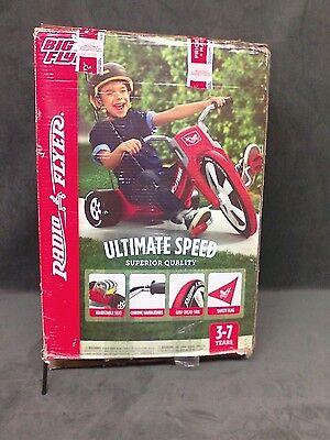 Big Wheel Radio Flyer Tricycle Red Kids Bike Outdoor Ride Toy Chopper Boys Trike