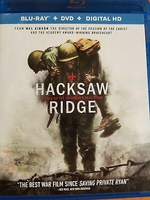 HACKSAW RIDGE, BLU RAY, DVD, DIGITAL HD for sale  Wattsburg