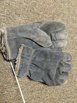 Leather Structural Fire Fighters Gloves Size Small Nfpa Sei