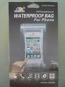 ZOE Waterproof Bags for Phones /other small items x 20 BRAND NEW Lutwyche Brisbane North East Preview