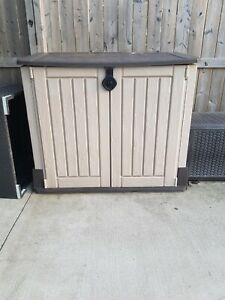 Large outdoor storage cabinet
