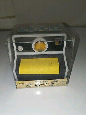 Post-it Pop Up Note Dispenser Camera Notepad Holder Black Camera 3 X 3