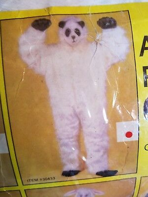 Full Body Panda Costume (Adult Plush Panda Full Body Suit Halloween Costume One)