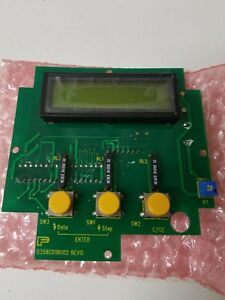 Fischer & Porter Display Board M. Reed Switcher D358C018U02