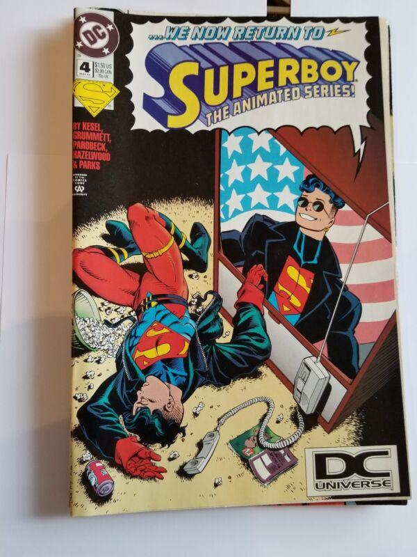 Superboy Comic Book Lot (4)