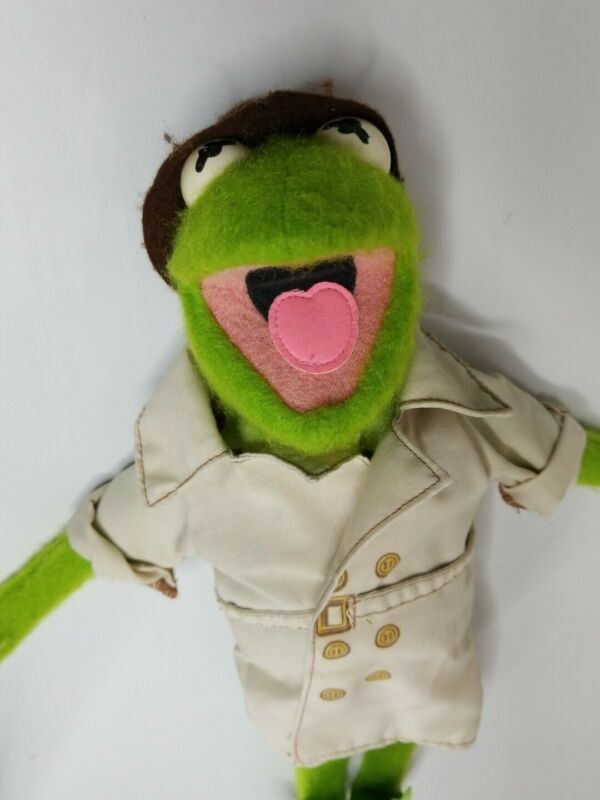 Vintage 1981 Fisher Price KERMIT THE FROG Dress-Up MUPPET DOLL Jim Henson  #857