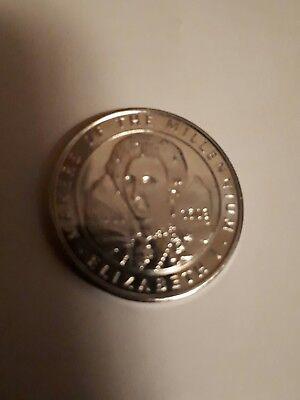 Makers of The Millenium collection 2000 sainsburys ELIZABETH 1 collectors coin