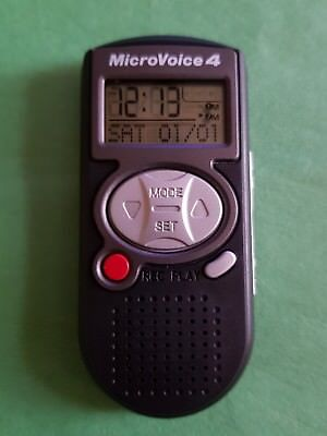 Microvoice 4™ Digital Recorder - Wecker/Alarm/Stoppuhr - Weihnachten Geschenk