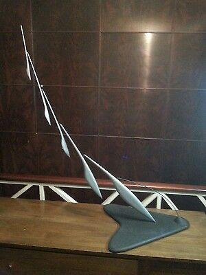 Vintage mcm 1950's mobile original marechal brown kinetic sculpture museum piece