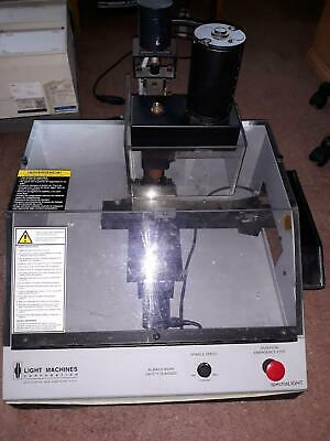 Light Machines Spectralight Benchtop Milling Machine Cnc W Controller Cables