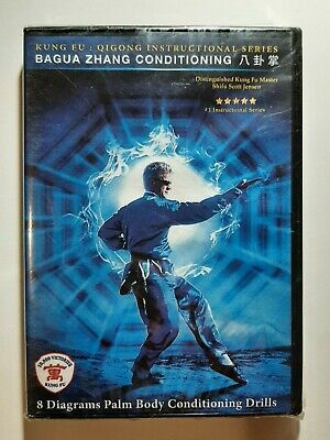 Bagua Zhang Kung Fu DVD 8 Diagrams Palm Body Conditioning NEW Sealed Free...