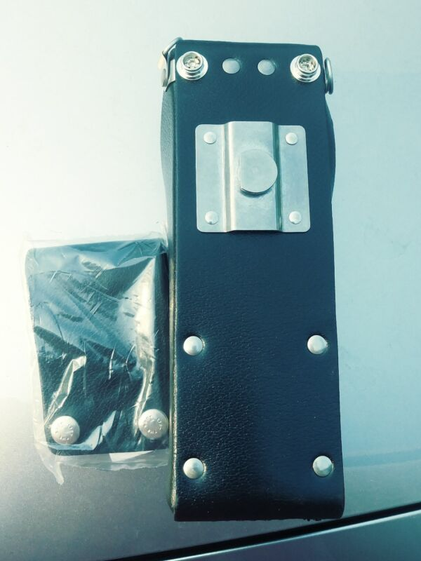 2 New BK 2 piece Leather  Holster  LPH EPH GPH DPH LAA0435 with swivel.