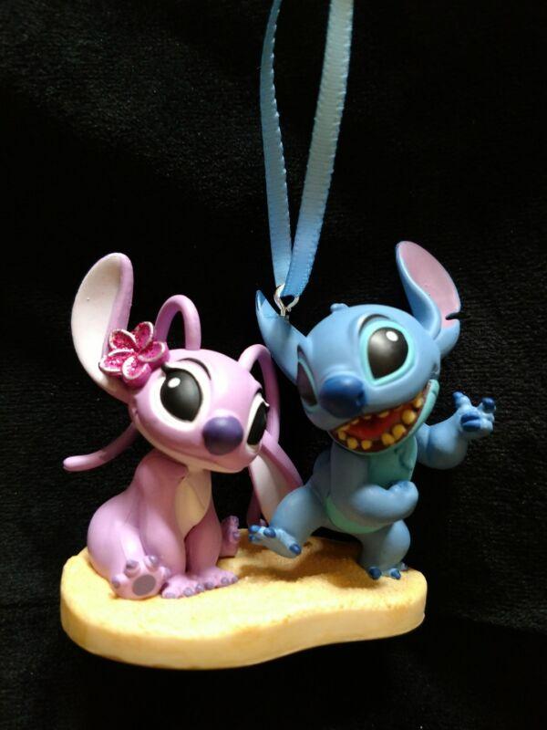 New Disney Lilo and Stitch- Angel and Stitch Christmas Ornament