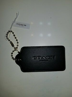 Coach Hangtag FOB  Black Hangtag new with tags