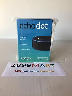 Brand New Amazon Echo Dot 2Nd Generation W  Alexa Voice Media Device Black