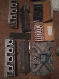 Ford Yates C3 Heads Intake New Titanium Valves Topend sbf 351 302 nascar roush