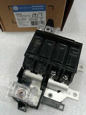 Thqmv200d Ge 2pole 200amp 240v Circuit Breaker New In Box