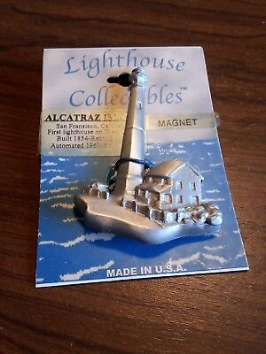 LIGHTHOUSE COLLECTIBLES ALCATRAZ ISLAND MAGNET