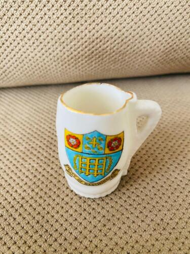 """W.H.GOSS """"CITY OF WESTMINSTER"""" Drink Pitcher Approx 2"""" Tall Royal Salie Bury Jac"""